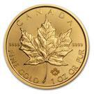 1oz Gold Maple Leaf